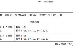 2019【マイルチャンピオンシップ(G1)】最終予想!
