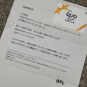 【当選品】 私たちはどうかしている QUOカード 3,000円 日本テレビ