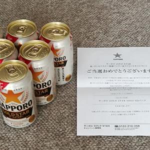 【当選品】 サッポロ GOLD STAR 350ml 6缶パック SAPPORO