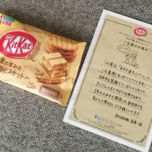 【当選品】 キットカットミニ 全粒粉ビスケットin ネスレ
