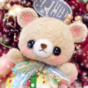 クリスマスココアメル☆羊毛フェルトマスコット