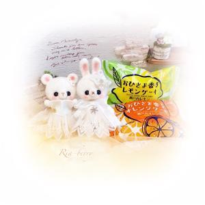 おひさま香るケーキ☆レモンとオレンジ☆ぬい撮り