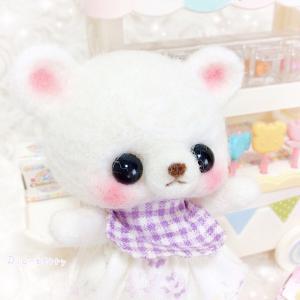 お迎え待ち☆ベビーメル☆羊毛マスコット