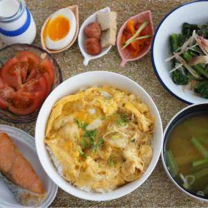 松山あげの卵とじ丼