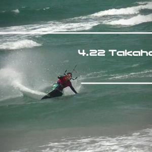4月22日高浜 ⇒ 結果 ウインドサーフィン windsurfing