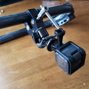 ブームにつけたカメラを失くさないように