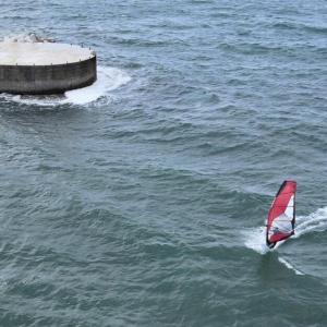 10月24日高浜 ⇒ 結果 ウインドサーフィン windsurfing kitesurfing