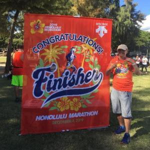 ホノルルマラソンに参加致しました。