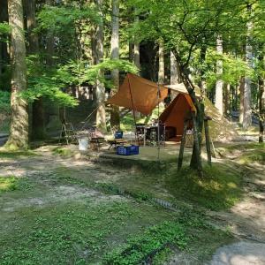 北山キャンプ場 2021 in Jun