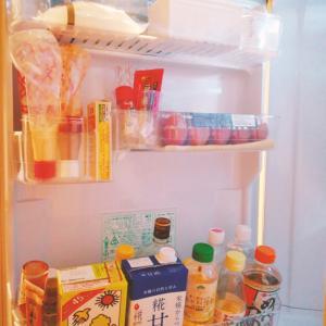 16日のお題 【冷蔵庫ドアポケットの整理】