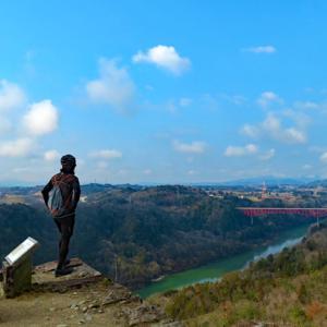 木曽川沿い散策と東美濃・山城スタンプラリー(苗木城・美濃金山城)