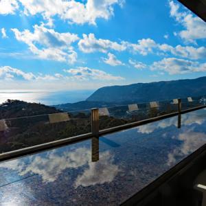 東伊豆の絶景足湯カフェと望洋公園の激坂