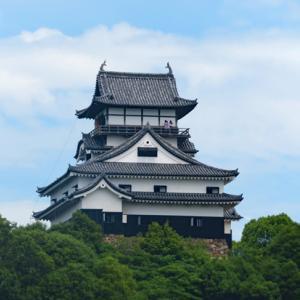 国宝・犬山城と長良川鉄道の鉄印