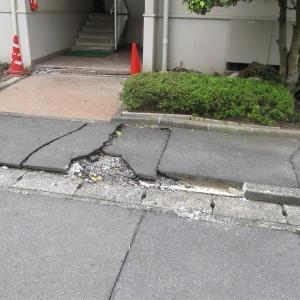 熊本地震後の写真