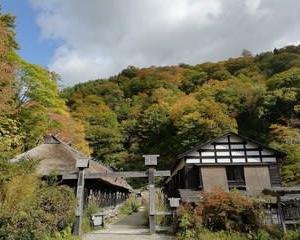 鶴の湯温泉 山の芋鍋定食