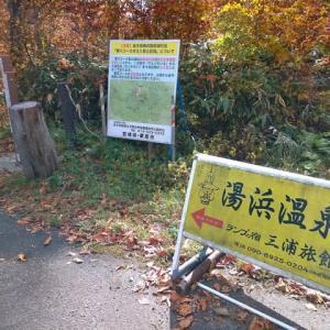 湯浜温泉 三浦旅館へのアプローチ