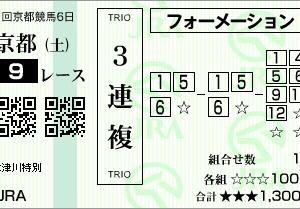 京都9R 木曽川特別