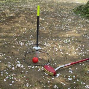 グランドゴルフ用ホールポスト作り