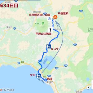 北海道の旅(34日目)~京極吹き出し公園へ