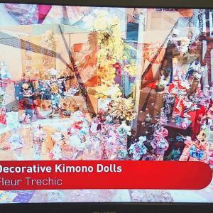 NHK WORLD-JAPANにて海外に向けても「着物ドールリウム」放映されました♪
