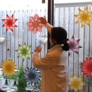 手作りの冬景色~トランスパレント~