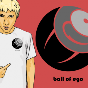 エゴの塊とTシャツ