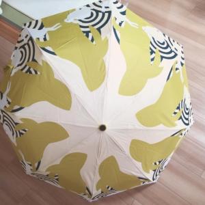 アラフォー主婦、うさぎ柄の傘を買う。