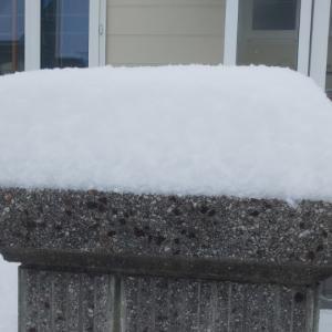 車庫やカーポートの雪下しが増えています