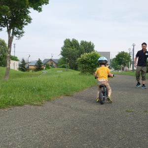 すき間時間で自転車の特訓!
