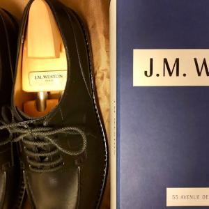 J.M. WESTON 641 GOLF をシャンゼリゼ通りで購入