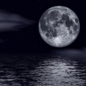8月4日 きょう一日の氣めぐり 満月