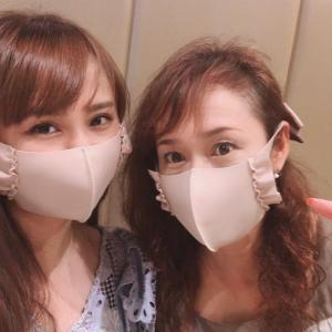 お揃いマスク♡