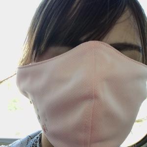 マスク大きいw