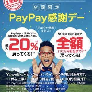 【PayPay】明日は待ちに待ったあの日です。