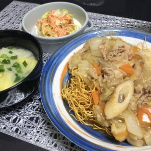 【貧乏飯】野菜が豊富な時に私が作る物。