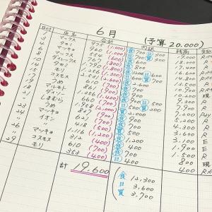 【新家計簿】貧乏人の1ヶ月分の生活費公開!