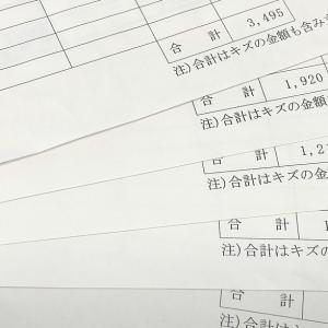 【内職収入額】コツコツ作業でコツコツ収入に。