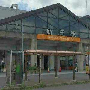 新田駅 喫煙所