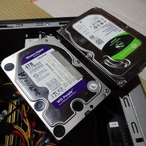 自宅PCもHDDの増強完了