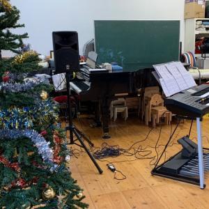 幼稚園クリスマスコンサート♪
