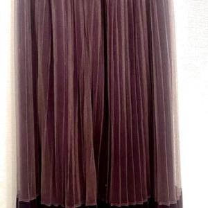 パープルのチュールスカート 魅力を引き出すコーディネートレポ