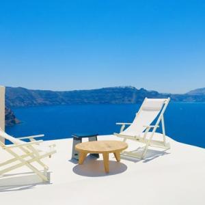 青と白の世界 サントリーニ島