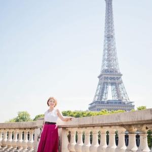 パリで未来の姿になりきってきました