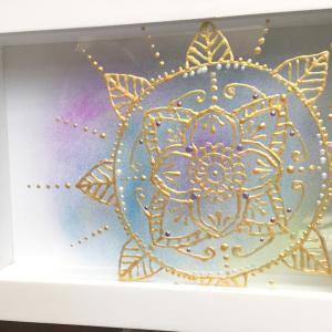 立体<曼荼羅>装飾アート6期、すでに修了された方も!