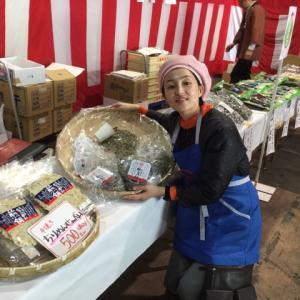 山盛りちりめん石野水産11月12月の販売 東京でのPR