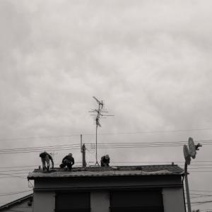 屋根を直す