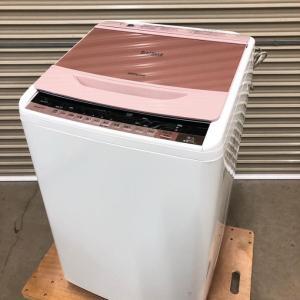 城里町にて日立の全自動電気洗濯機BW-8WVの出張買取いたしました