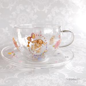 うさぎのカップ&ソーサー♪