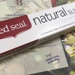 red seal®︎  natural SLS free  toothpaste オーストラリア