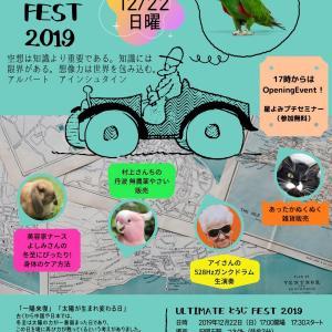 【ご案内】ULTIMATE とうじ FEST 2019 明石コネクト